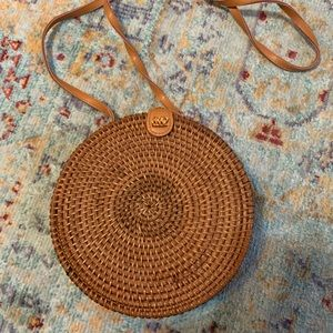 Urban Outfitters wicker bag